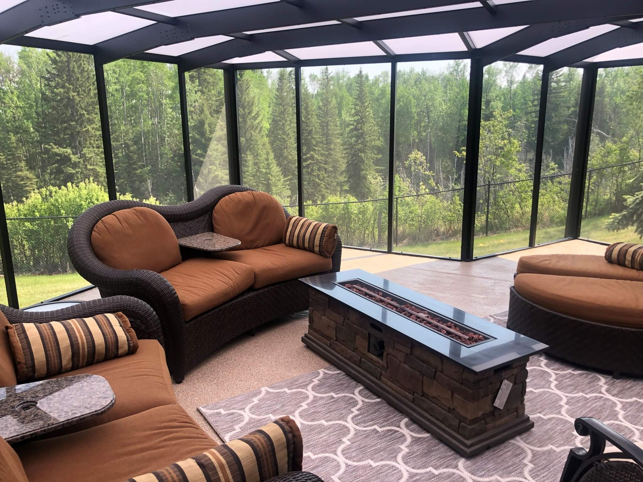 Deck Enclosure - Screen Room - Suncoast Enclosures