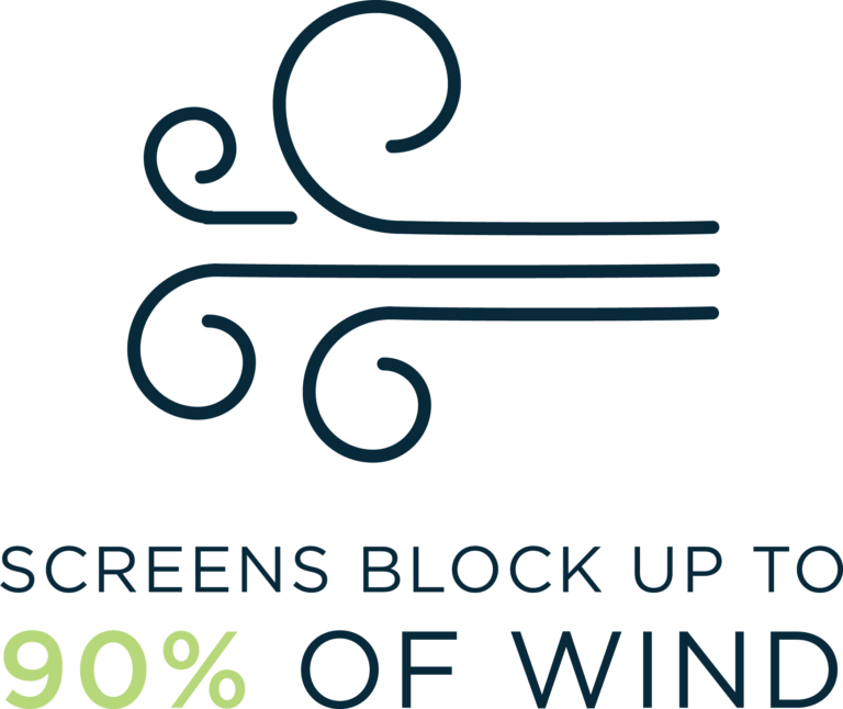 Screens block wind icon