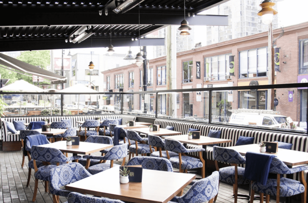 Banter Room Vancouver - Louvered Roof