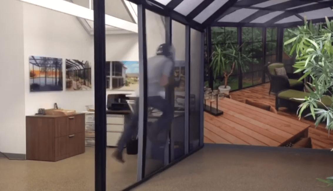 Suncoast Enclosures Screen Strength Test