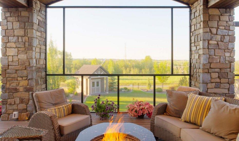 Fixed Screen Room - Suncoast Enclosures