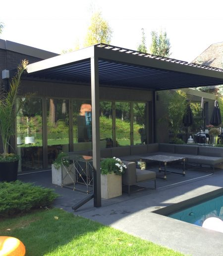 Louvered Roof - Suncoast Enclosures