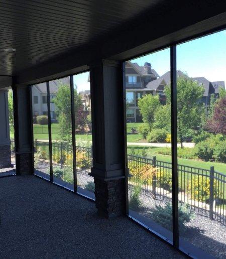 Screen Wall - Suncoast Enclosures
