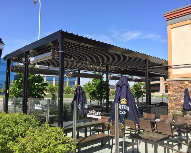 Commercial Louvered Roof - Suncoast Enclosures