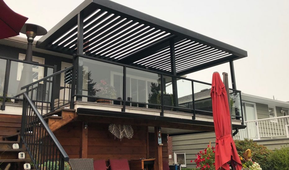 Residential Louvered Roof - Suncoast Enclosures