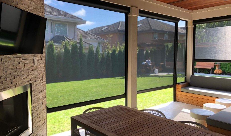 Retractable Screen - Suncoast Enclosures